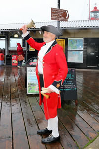 Town Crier James Cole welcomes Rayleigh Town Museum Group
