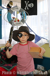 Pirate Grant Andrews age 7 from Cambridge