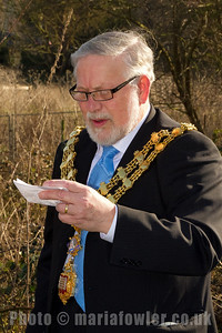 Harwich Town Mayor Barry Brown.
