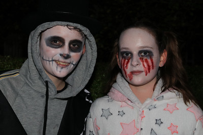 26 OCT 2019 – PICTURED L-R: Bradley Grosvenor and Georgina Grosvenor - Harwich Guy Carnival 2019 – Photo Copyright © Maria Fowler 2019