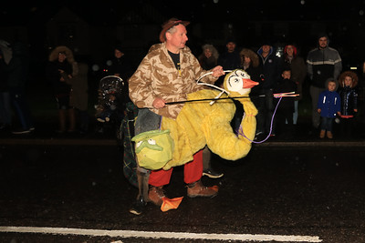 26 OCT 2019 – Wrabness Hunters, PICTURED: Jeff Webber - Harwich Guy Carnival 2019 – Photo Copyright © Maria Fowler 2019