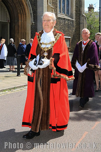 23 MAY 2019 – Pictured: Mayor of Harwich, Cllr. Alan Todd - Harwich Town Council, Mayor Making – Photo Copyright © Maria Fowler 2019