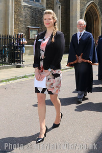 23 MAY 2019 – Pictured: Lucy Ballard, Town Clerk, Harwich Town Council - Mayor Making – Photo Copyright © Maria Fowler 2019
