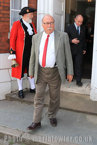 23 MAY 2019 – Pictured: Cllr. Steve Richardson -  Harwich Town Council, Mayor Making – Photo Copyright © Maria Fowler 2019