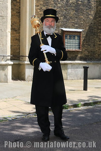 23 MAY 2019 – Pictured: Mace Bearer, John Ford - Harwich Town Council, Mayor Making – Photo Copyright © Maria Fowler 2019