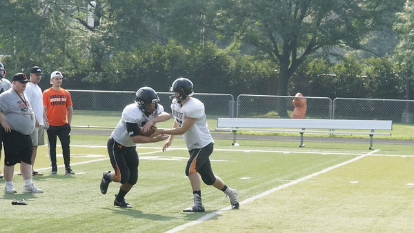 Has Hgts football Scrimmage 8/22/17