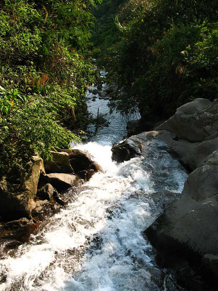 .....and mountain streams......
