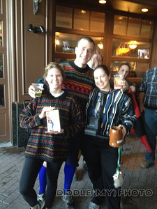 The three best Cosby Sweater winners as per the Scream O Meter, L to R, Consulation Prize, Just Brent, and Yeast Infection