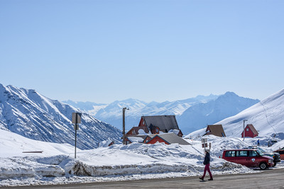 Hatcher Pass-April 1-Looking into the valley.