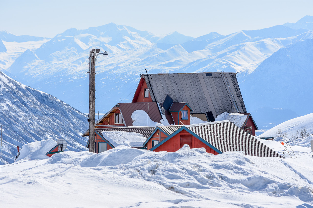 Hatcher Pass Lodge--Stop for coffee!