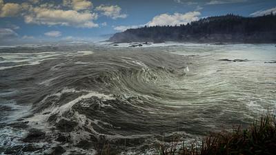 Boiler Bay low tide
