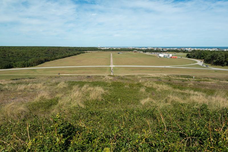 The Landing field
