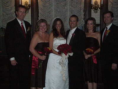 Andrew Whitfield, Johanna Hauck, Niki Whitfield, Phil Geigle, Laura Whitfield and Mark Whitfield