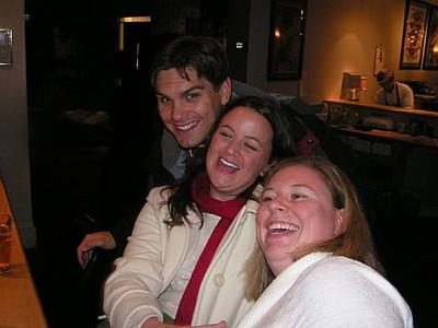 Nick, Jamie and Jo