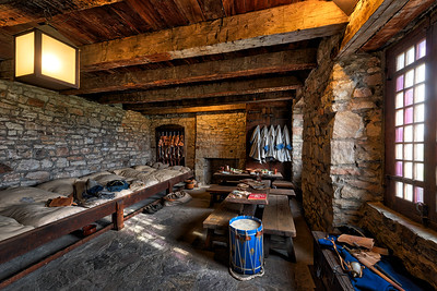 Soldier's Quarters in the French Castle