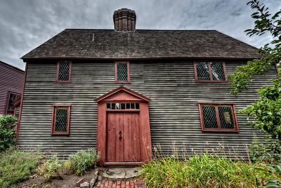 """The Pickman House, circa 1637"""