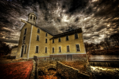 """The Haunted Slater Mill"" February 1st, 2012 Pawtucket, RI  http://www.slatermill.org/"