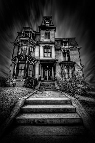 """The Haunted Victorian Mansion""<br /> (S.K. Pierce Mansion)<br /> Gardner, MA<br /> April 17th, 2013"