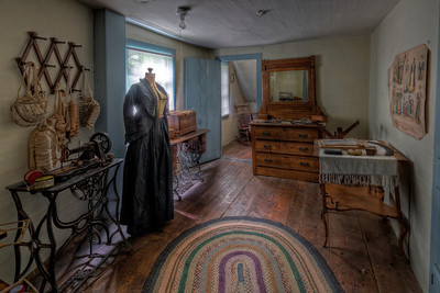 """Sewing Room"" The Paine House (circa 1668) in Coventry, RI July 1st, 2013"