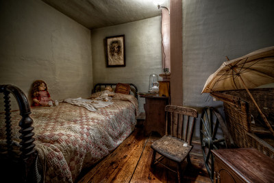 """""""The Child's Room"""" The Paine House (circa 1668) in Coventry, RI July 1st, 2013"""