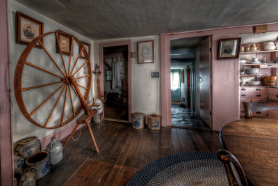 """""""The Gathering Room"""" The Paine House (circa 1668) in Coventry, RI July 1st, 2013"""