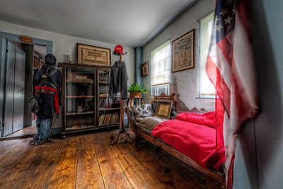 """The Military Room"" The Paine House (circa 1668) in Coventry, RI July 1st, 2013"