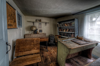 """The School Room"" The Paine House (circa 1668) in Coventry, RI July 1st, 2013"