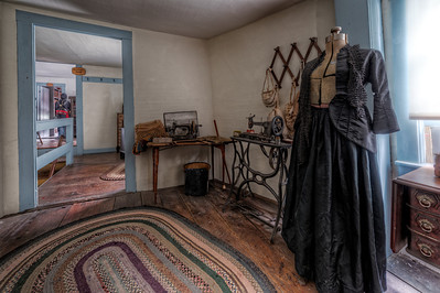 """The Sewing Room"" The Paine House (circa 1668) in Coventry, RI July 1st, 2013"