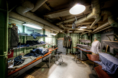 """The Tailor's Room"" On board the USS Salem in Quincy, MA June 25th, 2013"