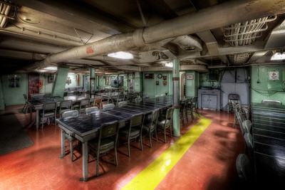 """The Officer's War Room"" On board the USS Salem in Quincy, MA June 25th, 2013"