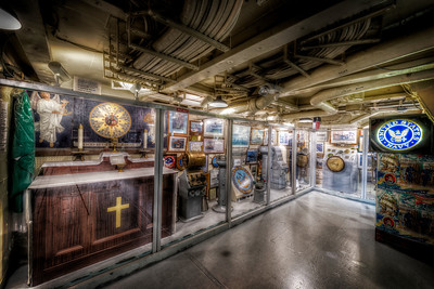 """The Navy Military Memorial"" On board the USS Salem in Quincy, MA June 25th, 2013"