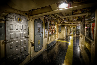 """The Halls Outside the Store"" On board the USS Salem in Quincy, MA June 25th, 2013"