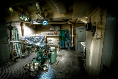 """The Birthing Room"" On board the USS Salem in Quincy, MA June 25th, 2013"