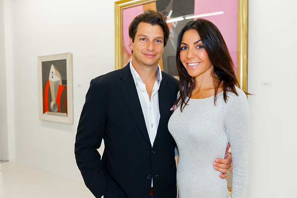 Haute Living Magazine at Gary Nader Gallery