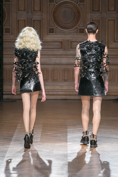On Aura Tout Vu Perpetual Motion Couture FW16-17