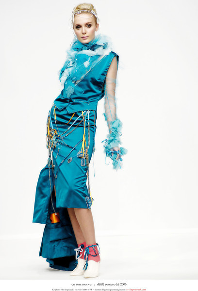 on aura tout vu by Yassen Samouilov and Livia Stoianova haute couture spring summer 2006