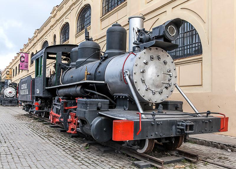 Historic American Steam Train in Havana