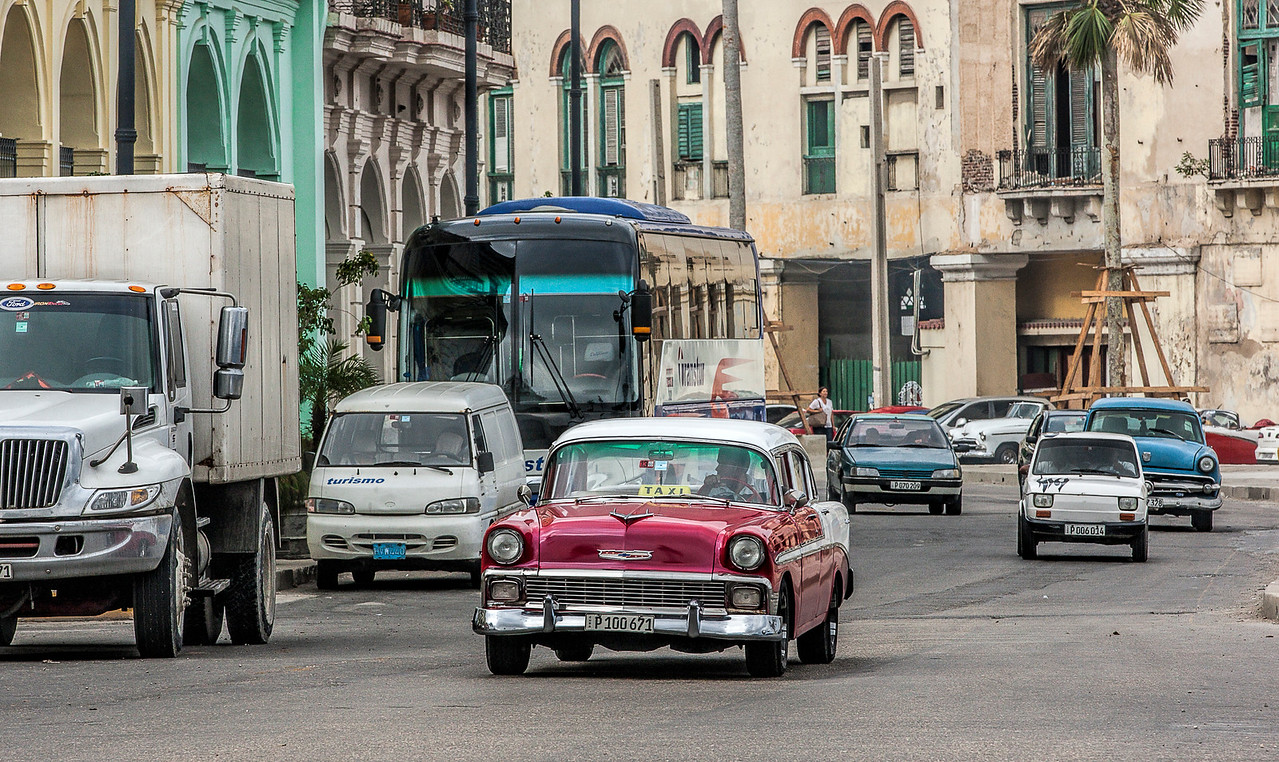 Traffic in Havana