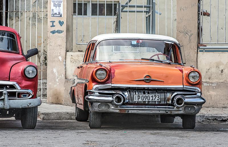 American Cars in Havana