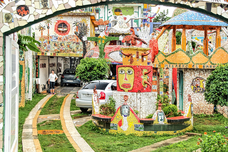 Home of Jose Fuster, Mosaic Artist