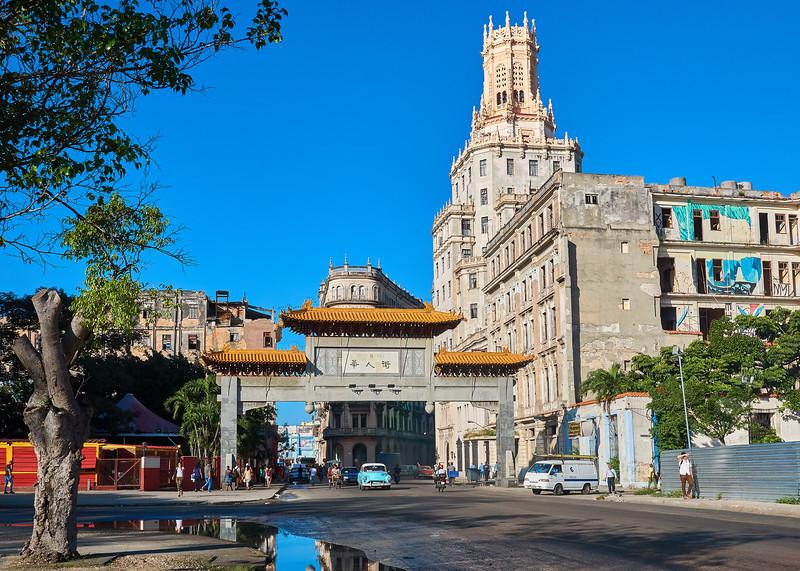 Paifang, also known as a pailou, is a traditional style of Chinese architectural arch