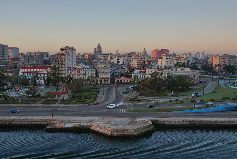 Havana at sunrise