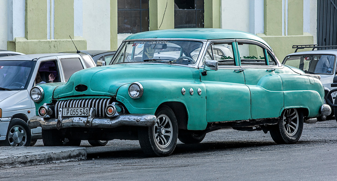 American Car in Havana