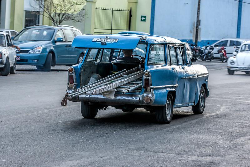 American Station Wagon in Havana Cuba