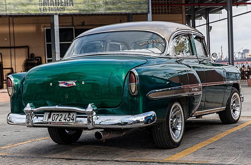 Historic American Chevvy in Havana Cuba