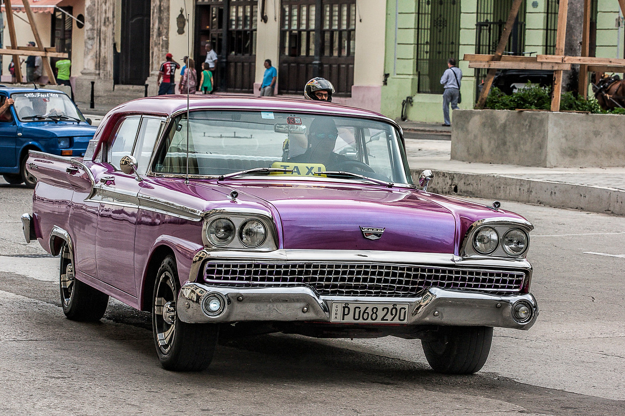 Historic American Automobile in Havana