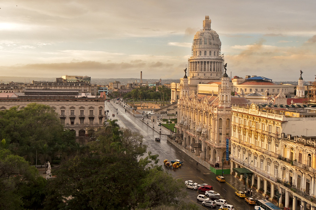 Capitol Building in Havana, Cuba