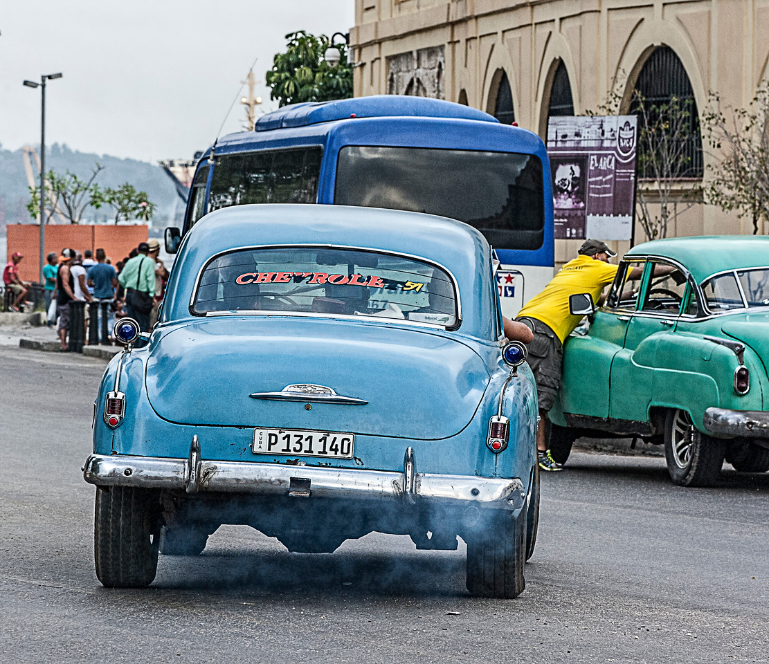 Old Smoky  American Car in Havana