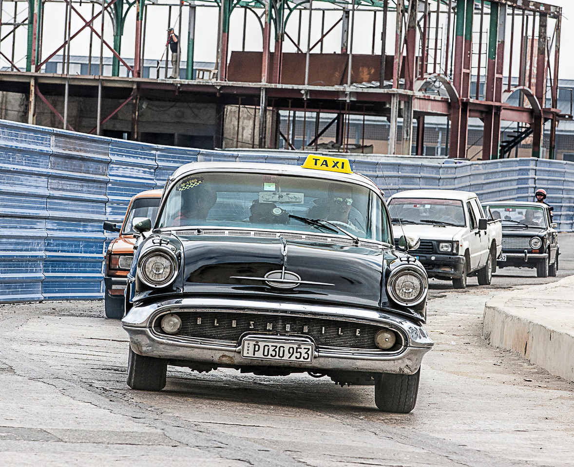 Oldsmobile Taxi in Havana