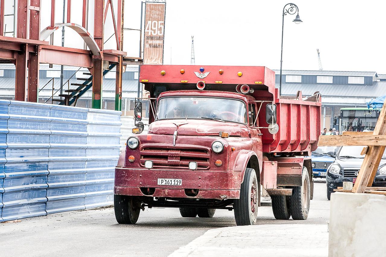 Truck in Havana